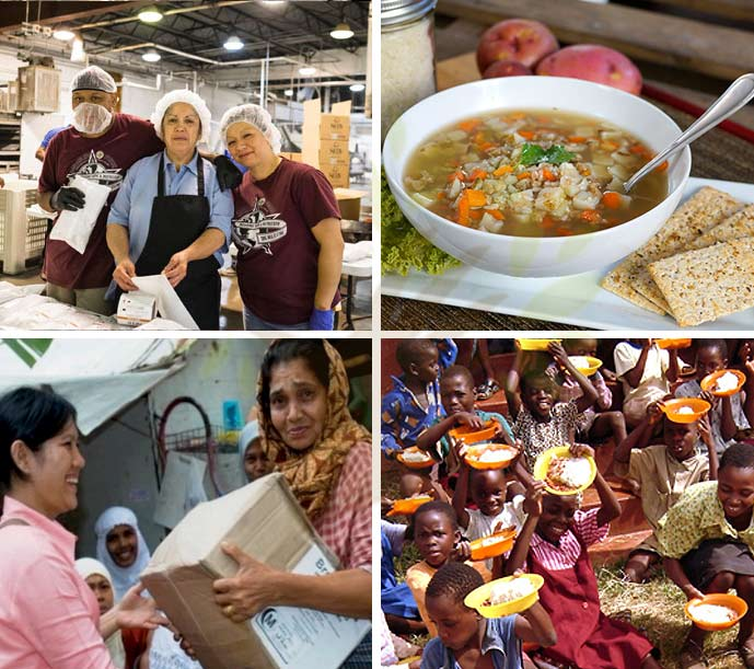 Examples of Breedlove's Mission to End Hunger