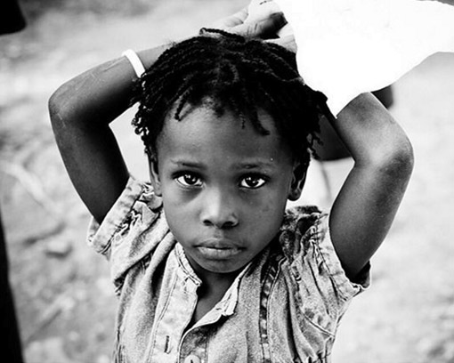 Little Girl in Haiti